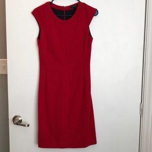 Size 2 Banana Republic red dress.